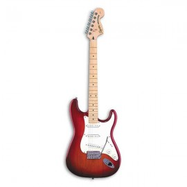 Electric Guitar Squier Standard Strat MN Cherry Sunb.