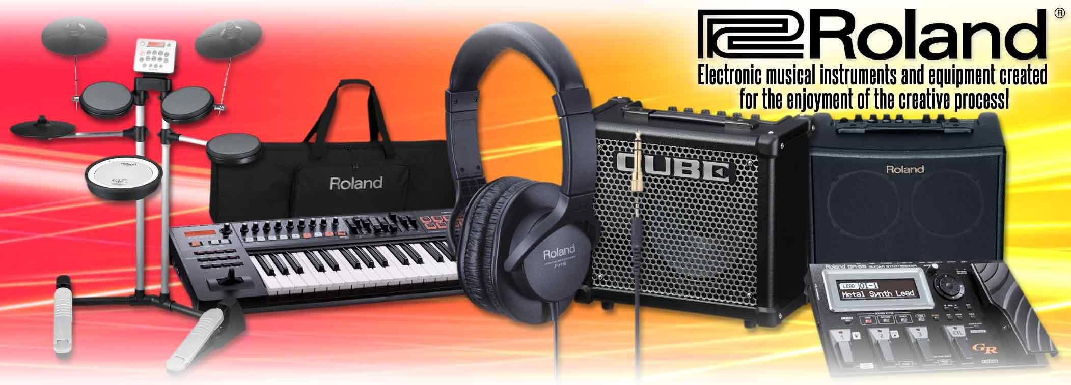 Roland music technology