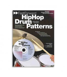 Livro Music Sales AM966493 Fast Forward HipHop Drum Patterns