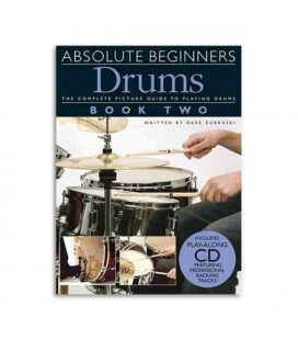 Livro Music Sales AM963633 Absolute Beginners Drums 2