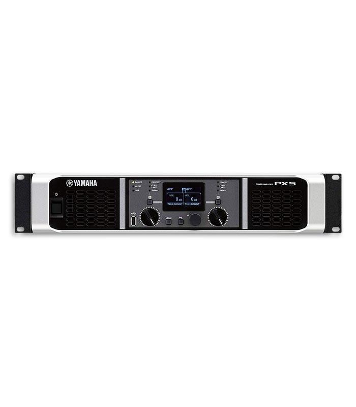 Foto de los controles de la Etapa de Potencia Yamaha modelo PX5