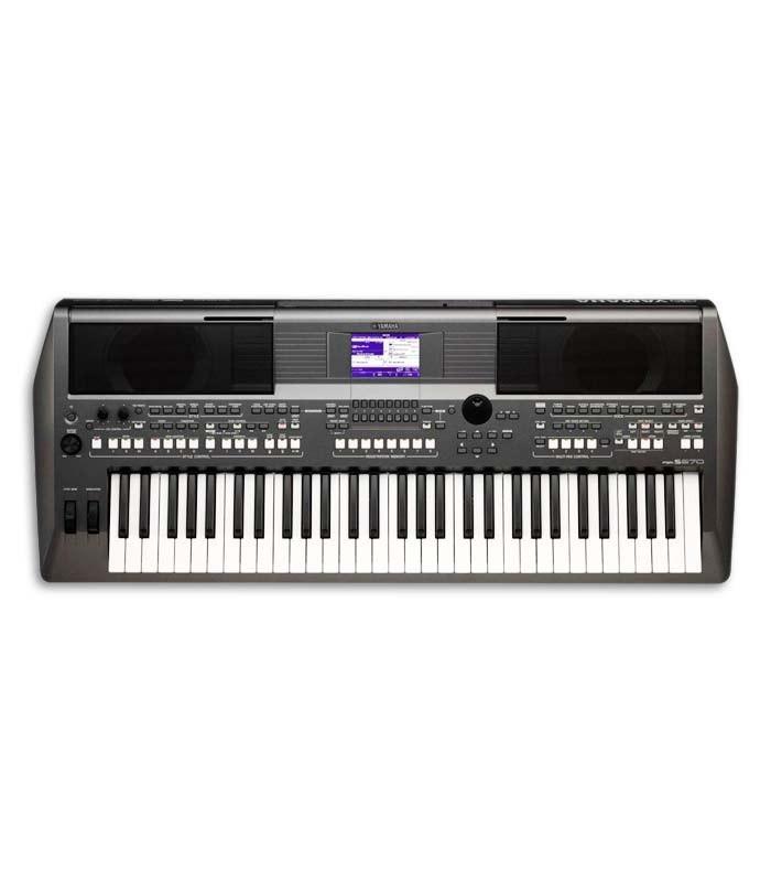 Teclado Portátil Yamaha PSR S670 61 Teclas