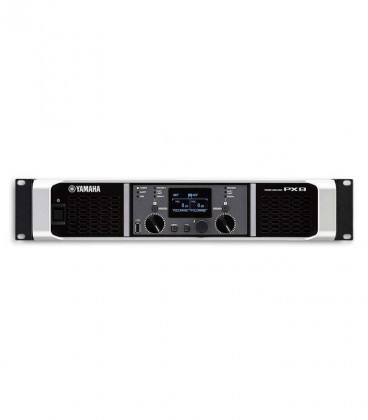 Photo of the Power Amplifier Yamaha PX8's controls