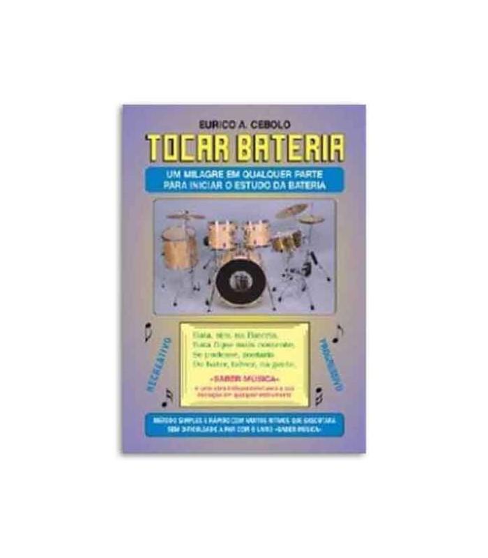 Eurico Cebolo Book Método Tocar Bateria with CD BAT