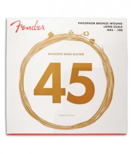Fender Acoustic Bass String Set 8060 Phosphor Bronze