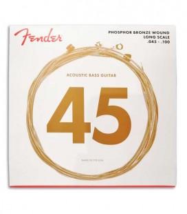 Juego de Cuerdas Fender 8060 para Bajo Acústico Phosphor Bronce