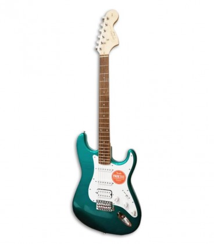 Guitarra Eléctrica Fender Squier Affinity Stratocaster HSS IL Race Green