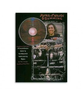 Livro Music Sales HLE00000182 Afro Cuban Drumming Book CD