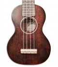 Cuerpo del ukulele Gretsch Soprano G9100 con la funda