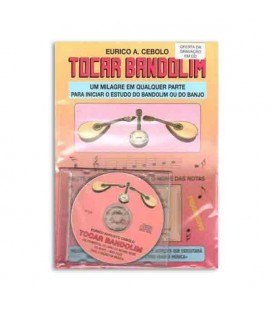 Libro Eurico Cebolo T Band Método Tocar Bandolim con CD