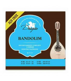 Dragão Mandolin String Set 076 8 Strings Stainless Steel