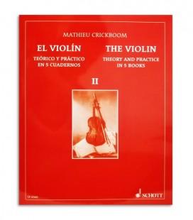 Mathieu Crickboom para Violino Teórico e Prático Vol 2