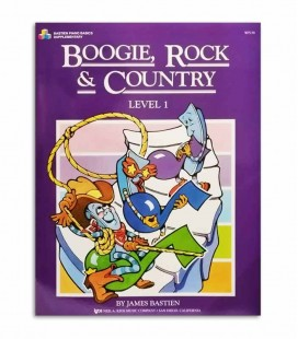Book Boogie Rock & Country Level 1 for Piano