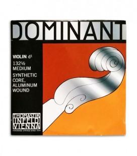 Cuerda Thomastik Dominant 132 Mi para Violín 1/2 3 Ré