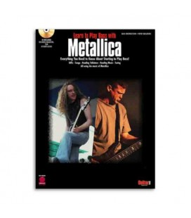 Libro Music Sales HL02500189 Metallica Learn To Play Bass