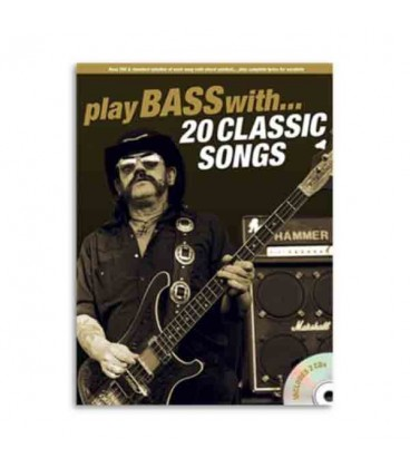 Libro Music Sales AM1006610 Play Bass With 20 Classic Songs