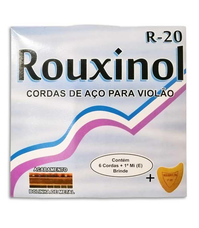 String Set Rouxinol R20 Viola de Fado 011 042 Ball
