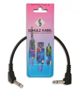 Cable Schulz PC 30 Jack Jack 30cm Curvo