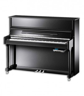 Pearl River Upright Piano AEU118S PE Classic SILENT 118cm Black Polish 3 Pedals
