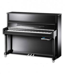 Piano Vertical Pearl River AEU118S PE Classic SILENT 118cm Preto Polido 3 Pedais