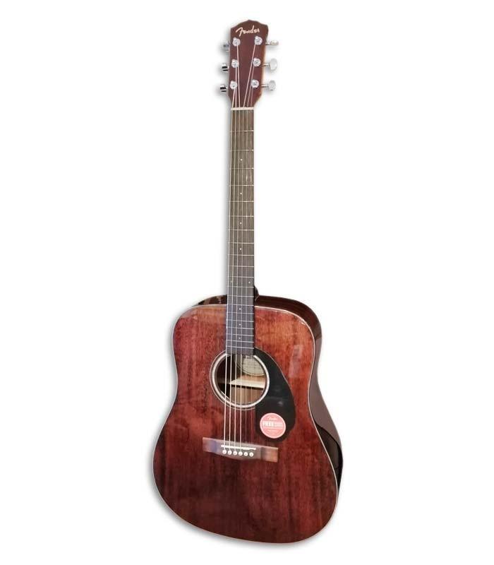 Cuerpo de la guitarra Fender CD 60S All Mahogany