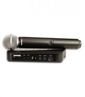Sistema Microfone Receptor Emissor Completo Shure BLX24E SM58 H8E