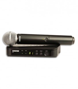 Sistema Micrófono Receptor Emisor Completo Shure BLX24E SM58 H8E