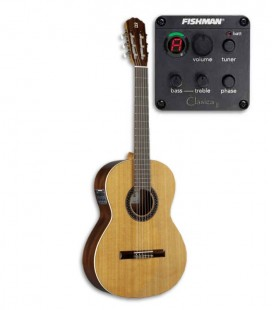 Guitarra Cl叩ssica Alhambra 1C HT EZ