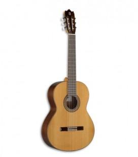 A guitarra clássica Alhambra 3C tem um som profundo, quente e muito definido