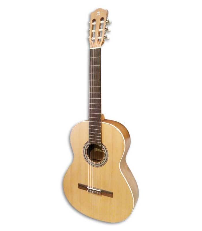 Foto a 3/4 da Guitarra Clássica Alhambra Z-Nature
