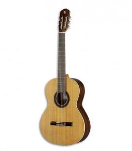 Guitarra Cl叩ssica Alhambra 1C HT LH Cedro Sapelly
