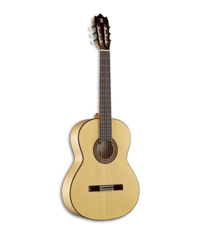 Guitarra de flamenco Alhambra 3F, com acção baixa para maior destreza