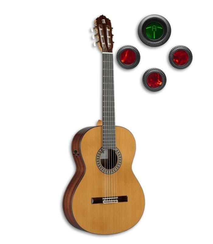 Guitarra Clássica Alhambra 5P E8 com Equalizador Fishman E8