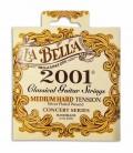 Jogo de Cordas LaBella 2001 para Guitarra Clássica Tensão Média Alta