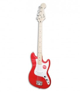 Guitarra Bajo Fender Squier Bronco Bass Torino Red