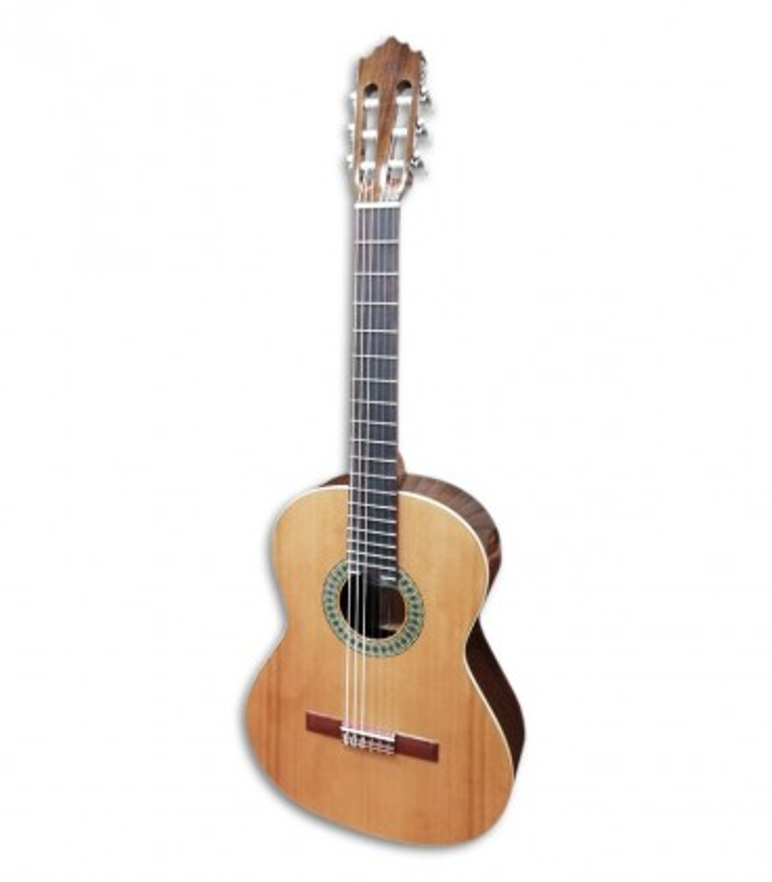 Foto da guitarra clássica Paco Castillo 201