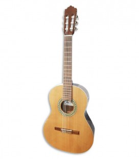 Foto da guitarra clássica Paco Castillo 201 3/4
