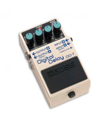 Foto do Pedal Boss DD-7 3/4 esquerda