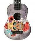 Corpo do ukulele Mahilele ML3-004 Soprano Skullcom