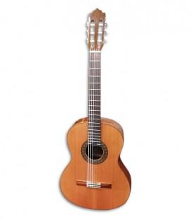 Foto frontal da guitarra Paco Castillo 202
