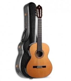 Guitarra Clássica Alhambra 10P Cedro Pau Santo com Estojo