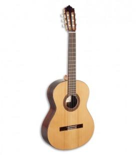 Foto Guitarra Clássica Paco Castillo modelo 203 frente e tres quartos