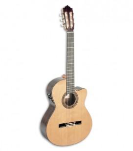 Foto guitarra clássica Paco Castillo 234 TE de frente y en trés cuartos