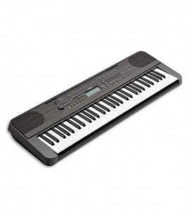 Photo of Yamaha Keyboard PSR E360 front and in three quarters