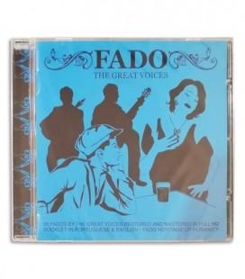 Foto da capa do CD Fado nas Grandes Vozes editado pela Sevenmuses