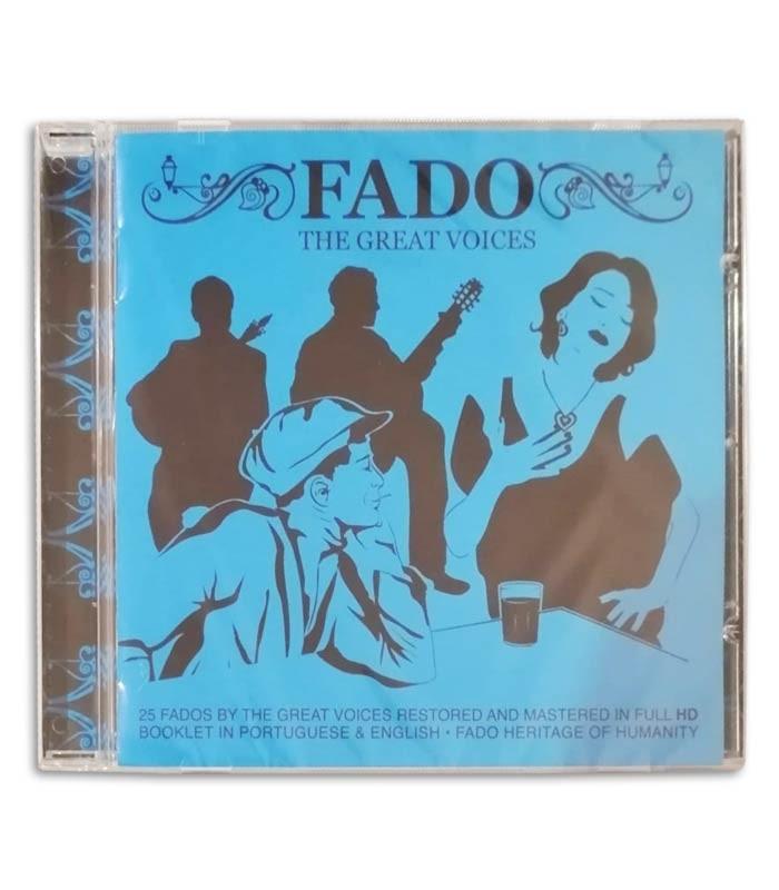 Foto de la portada del CD Fado nas Grandes Vozes editado por la Sevenmuses