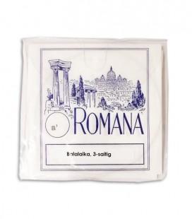 Foto del embalaje del Juego de Cuerdas Romana para Balalaika