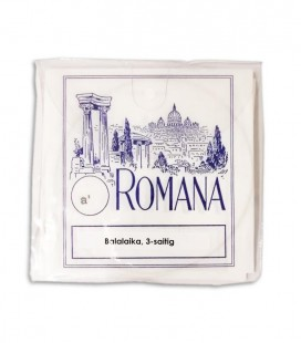 Photo of the package of the String Set Romana fora Balalaika