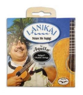 Photo of the package cover of the String set Lanikai for Tenor Ukulele