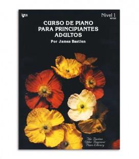 Photo of the cover of the book Curso de Piano para Principiantes Adultos from Bastien in Spanish Volume 1